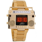 Gold Boombox Watch