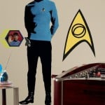 Huge Spock Wall Decal