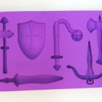 Medieval Weapons Ice Tray
