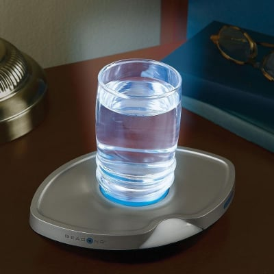 Motion Sensor Illuminating Glass Coaster