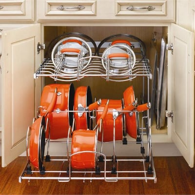 Two Level Cookware Organizer