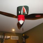 Warplane Ceiling Fan