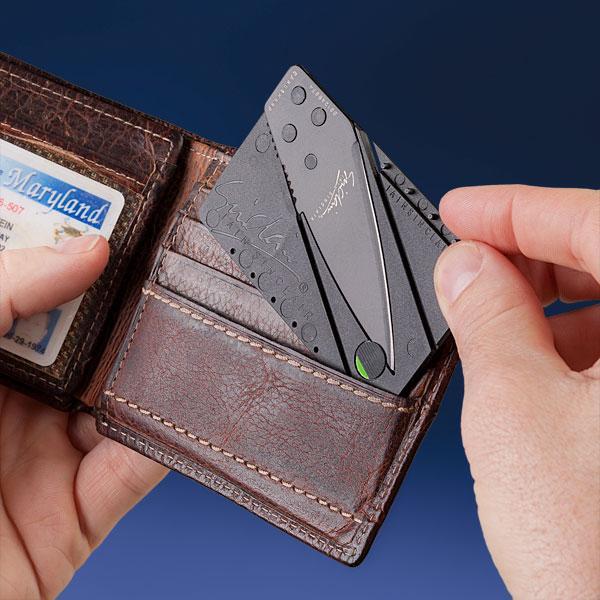 Credit Card Folding Knife