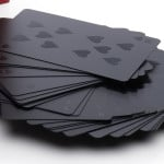 Black on Black Deck of Cards 4