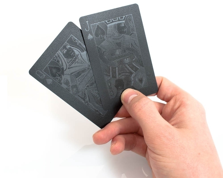 Black on Black Deck of Cards1