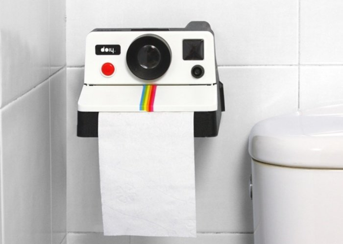 Polaroid Toilet Paper Holder 1