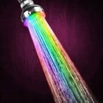 Rainbow Color Changing Shower Head