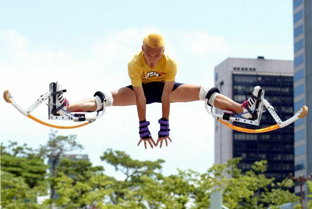 Jumping Stilts 1