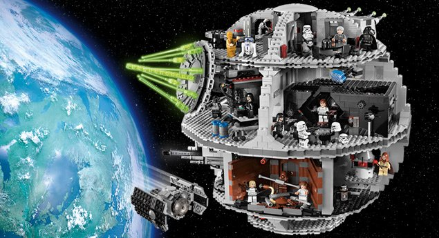 LEGO Death Star1