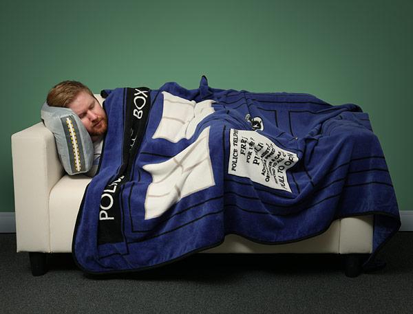 TARDIS Blanket 1