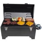 Portable Tool Box Charcoal Grill 10