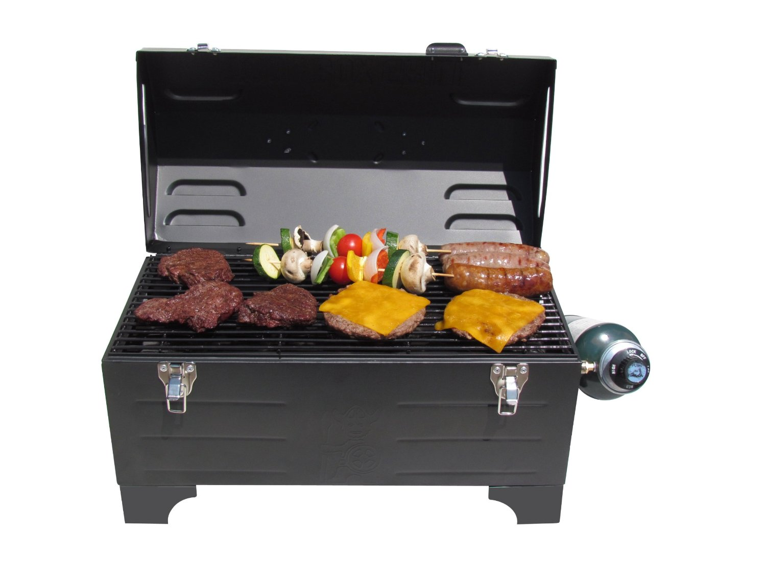 Portable Tool Box Charcoal Grill 1