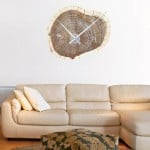 Woodsman Clock Wall Decal 3