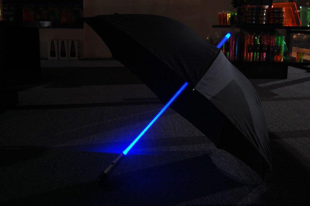 Blue LED Lighted Umbrella 1