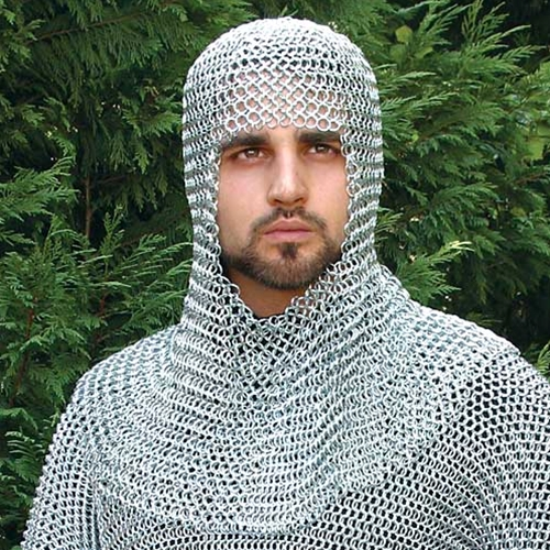 Chain Mail Shirt and Coif 1