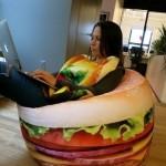 Hamburger Beanbag1