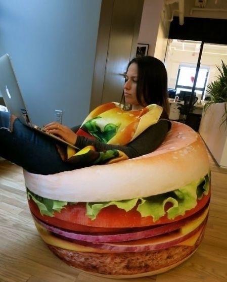 Hamburger Beanbag 1