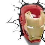 Iron Man Mask 3D Light 5