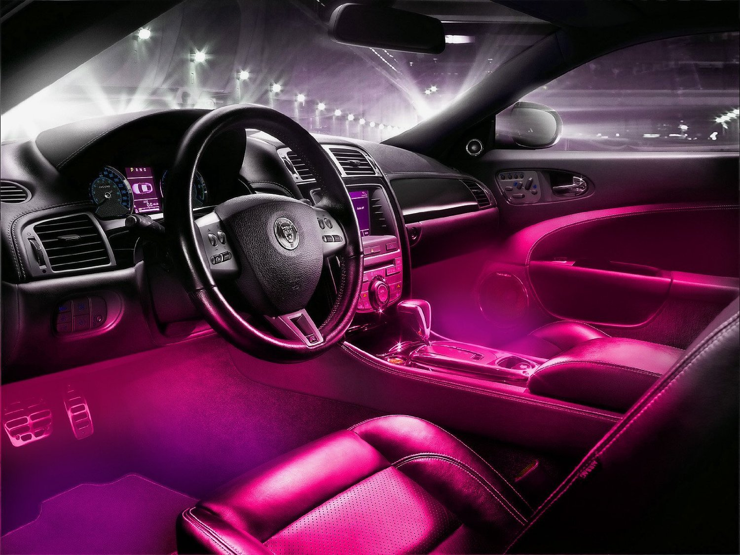 Led Interior Underdash Lighting Kit