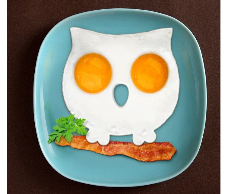 Owl Shaped Egg Mold 1