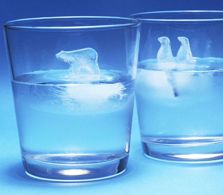 Polar Bear Ice Cube Molds 1