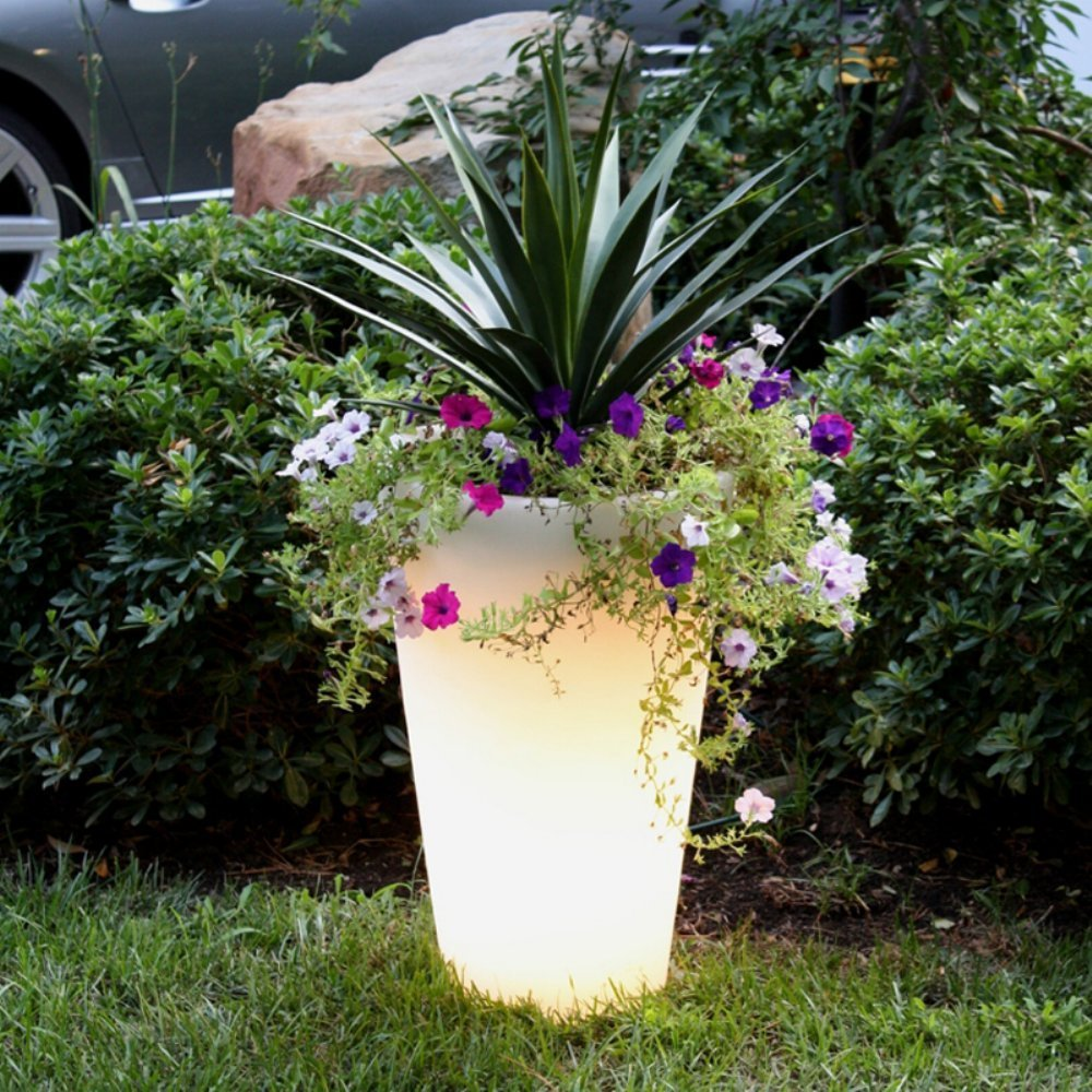 Soft Glow Illuminated Planter 1
