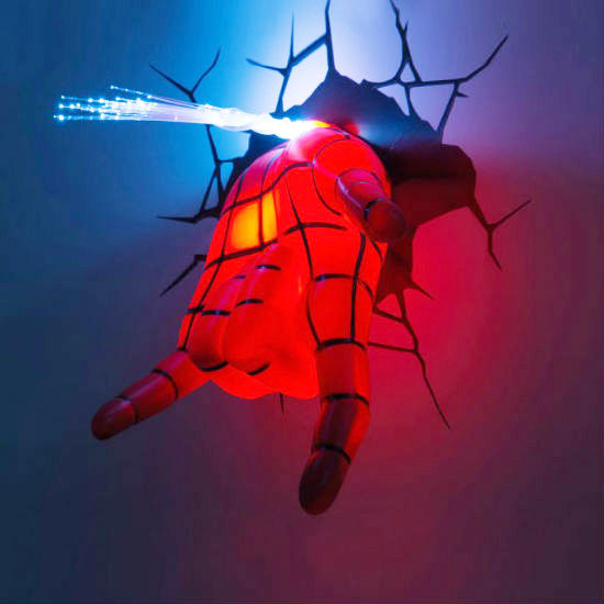 Spiderman Hand 3D Deco Light 1