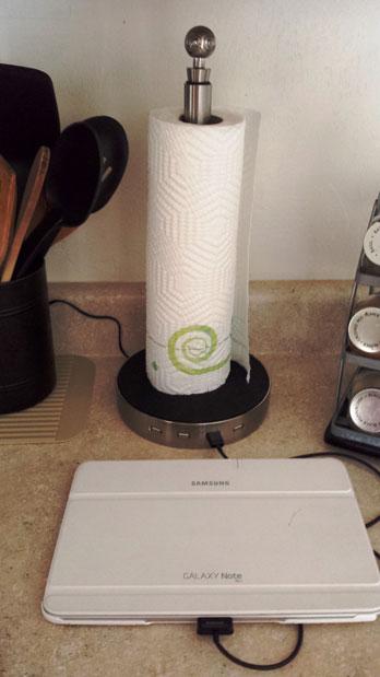 USB Paper Towel Holder 1