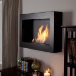 Wall Mount Ethanol Fireplace 5