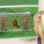 1 Way Mirror Birdfeeder