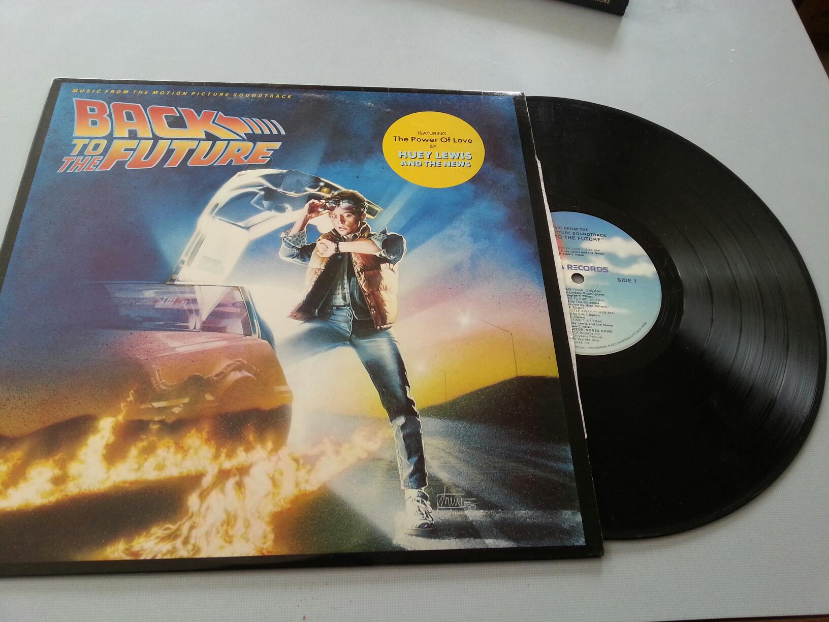Back To The Future Vinyl 1