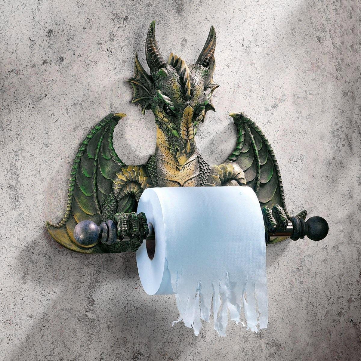 Dragon Toilet Paper Holder 1