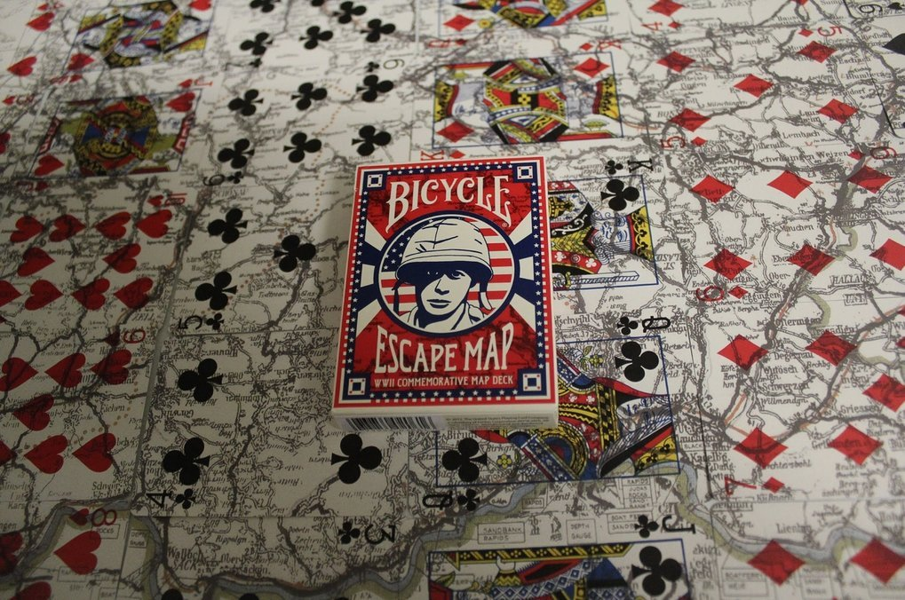 Escape Map Playing Cards 1