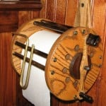 Fishing Reel Toilet Paper Holder 1
