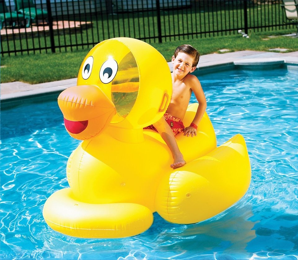 Giant Inflatable Ducky 1