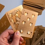 Gold Playing Cards 7