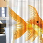 Goldfish Shower Curtain 3