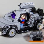 LEGO DeLorean Time Machine