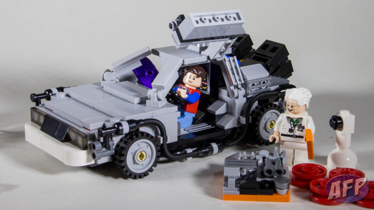 LEGO DeLorean Time Machine 1