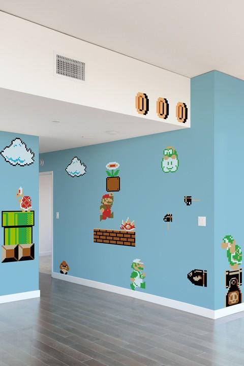 Mario Wall Decals 1