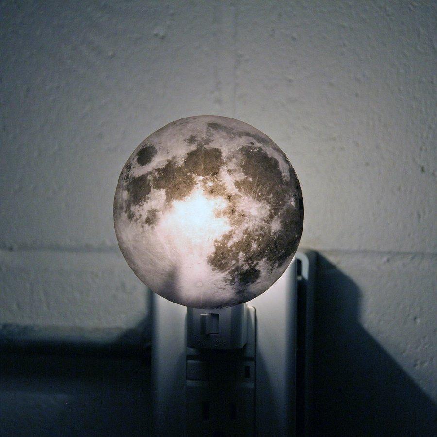 Moon Night Light 1