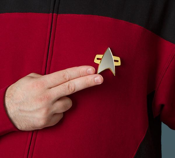 Star Trek Communicator Badge 1