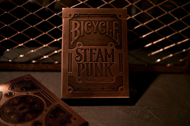 Steampunk Playing Cards 1