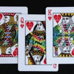 Tie Dye Playing Cards 2