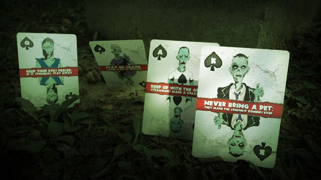 Zombie Playing Cards 1