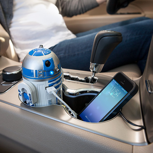R2-D2 USB Car Charger (Whistles & Beeps)