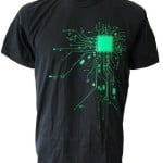 Computer CPU Core Heat Geek T-Shirt 7