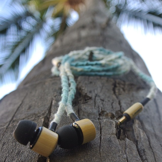 Bamboo Tangle Free Earbuds