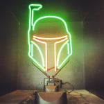 Boba Fett Neon Light 4
