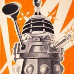 Dalek Exterminate Towel